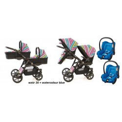 FREESTYLE Onyx Tandem 3 in 1 Maxi Cosi
