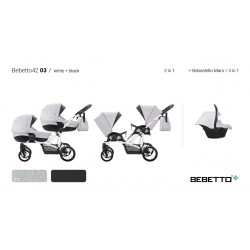 Bebetto 42 2017 3 in 1 NEW