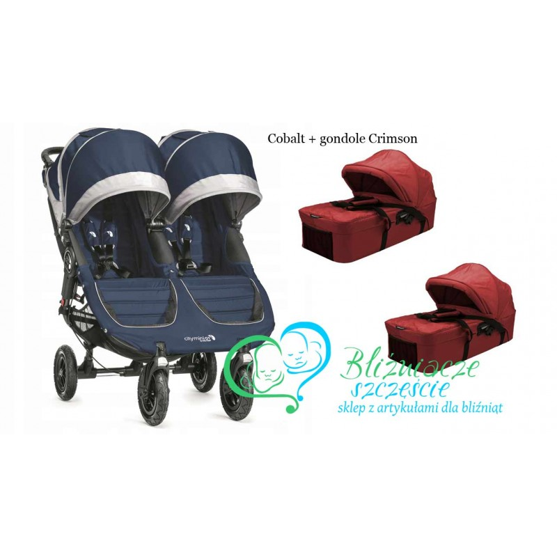 Baby Jogger City Mini Double Gt 2 En 1 Bliźniacze