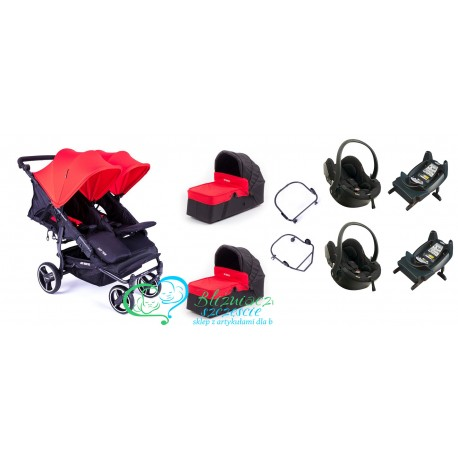BABY MONSTER Easy Twin 3 en 1 Maxi Cosi