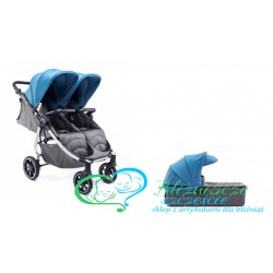 "Baby Monsters Easy Twin 4.0 ""rok po roku"" srebrna rama"