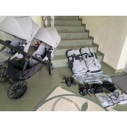 Baby Jogger City Select Lux + foteliki Kiddy isofix