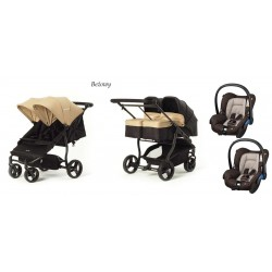 Baby Monsters Easy Twin 3.0S zestaw 3 w 1 Maxi Cosi Citi