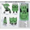 Baby Jogger City Mini Double wymiary