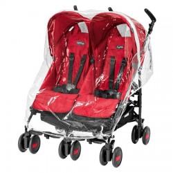 Folia przeciwdeszczowa do wózka Peg Perego Pliko Twin Mini