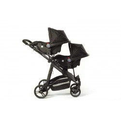 Adapteur for 1 car seat for Baby Monsters Easy Twin