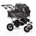 Folia przeciwdeszczowa na dwie gondole do wózka TFK