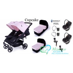 BABY MONSTER Easy Twin 3 en 1 Maxi Cosi