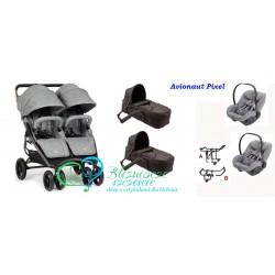 Valco Baby Snap Duo 3w1 miękkie gondole Pixel / Pixel Pro
