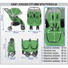 Baby Jogger City Mini Double GT 2 en 1