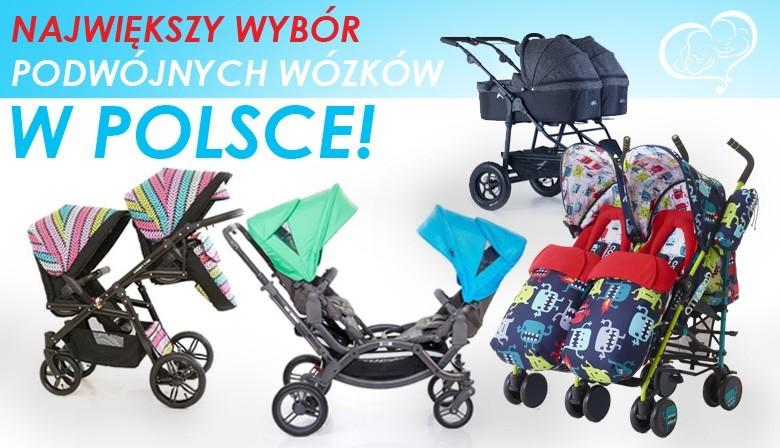 Największy wybór wózków bliźniaczych w Polsce