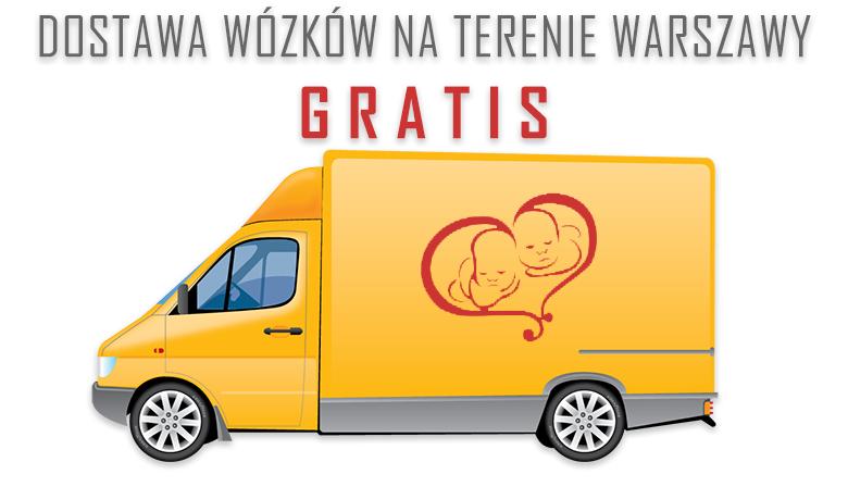 Darmowa dostawa na terenie Warszawy